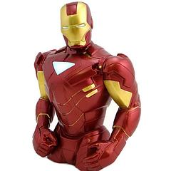 Iron Man Bust Bank - Even the mighty Thor couldn't break through Iron Man's armour, so you can rest assured your money will be safe with this magnificent metal Avenger.Independent product review by gothenqcowboys YouTube channel