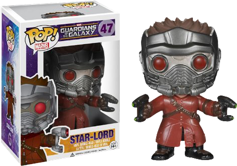Star-Lord Pop! Vinyl Guardians of the Galaxy Figure