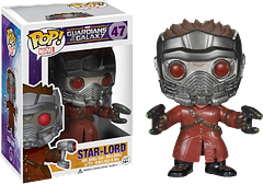 Star-Lord Pop! Vinyl Guardians of the Galaxy Figure - He's rude, he's wild and he's kind of awesome. He also kind of knows it. Check him out today in all his tiny glory as his Funko Pop! Vinyl Figure.