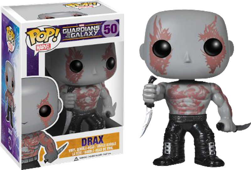 Drax The Destroyer Pop! Vinyl Guardians of the Galaxy Figure