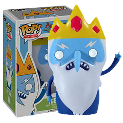 Ice King Pop! Vinyl Adventure Time Figure - He may have a slight obsession with princesses and a penguin that somehow manages to make more sense than he does sometimes, but the Ice King can certainly keep things exciting for Finn and Jake, and hopefully his Pop! Vinyl Figure, from Funko, can do the same for you.