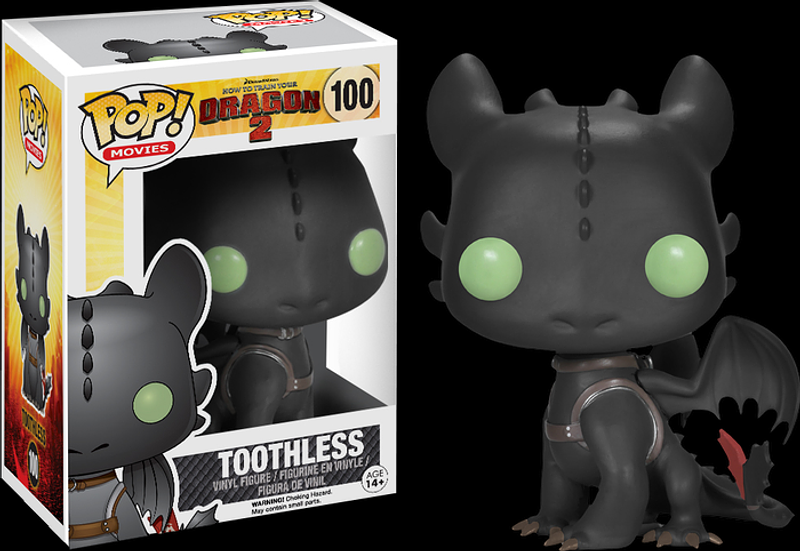 Toothless Pop! Vinyl Figure: How to Train Your Dragon