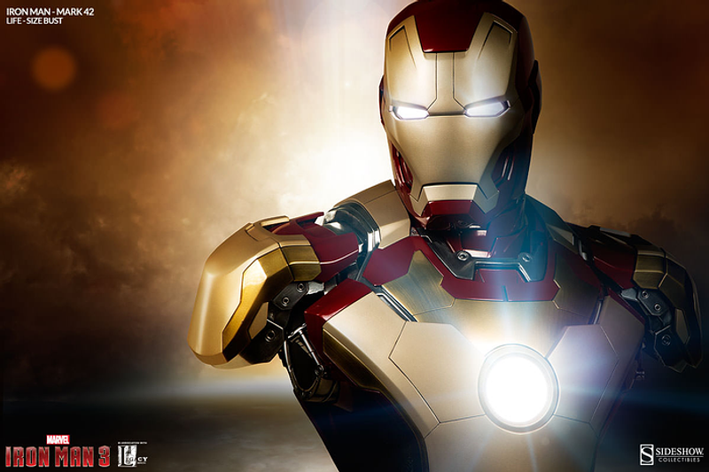Iron Man 3 Mark Sideshow Collectables 42 Life Size Bust