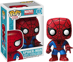 Spider-Man Pop! Vinyl Figure - Your friendly neighbourhood Spider-Man Pop! Vinyl Figure is as loyal a friend as you can get; as in he's sure to stick around.