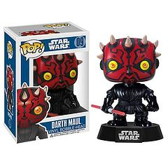 Darth Maul Pop! Vinyl Figure - For some the dark side is their only choice. For such souls, one lightsaber blade just doesn't seem to be enough.