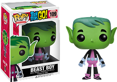 Beast Boy Pop! Vinyl Figure - Straight from the Teen Titans Go Pop! Vinyl series, Beast Boy is the cool kid who can be any beast he wants to be. Green or red he's still awesome.