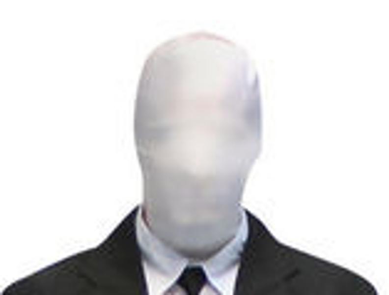 White Morphsuit Mask