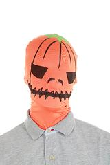 Pumpkin Mask by Morphsuits - For Halloween or just for a bit of scary fun, presenting the Morphsuits Pumpkin Mask.We stock the original Morphsuit products because they are quite simply the best quality. You can see through them, drink through them and party in them!These masks look awesome on both men and women and are certainly 'one size fits all'. Not suitable for infants.