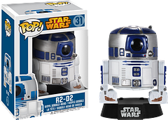 Star Wars R2-D2 Pop! Vinyl Figure - Let's face it…R2-D2 has always been everyone's favourite droid.  He's cute and sassy, and is now even cuter as the R2-D2 Pop! Vinyl Bobble-head Figure.  He's definitely the droid you've been looking for!