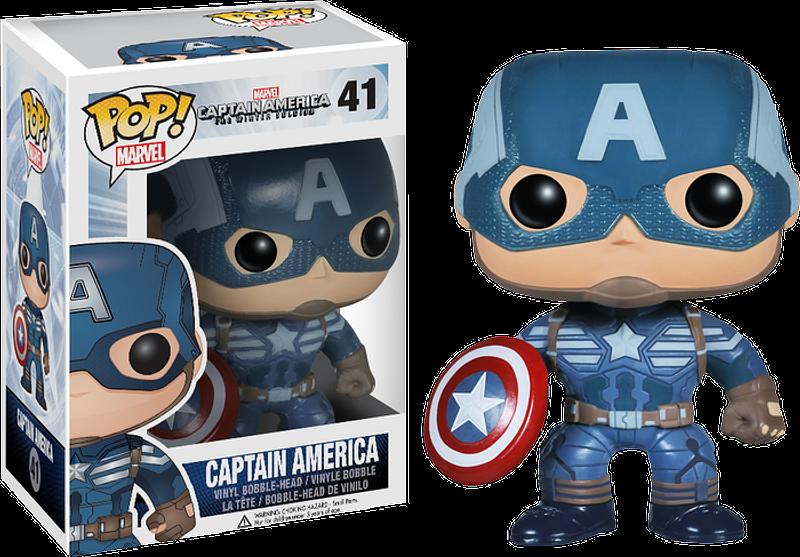 Captain America 2 - Captain America Pop! Vinyl Figure