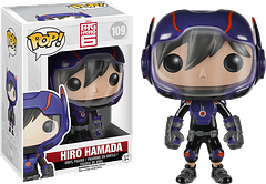 Big Hero 6 Hiro Hamada Pop! Vinyl Figure - This child prodigy in robotics, from Disney's Big Hero 6 movie, is now a 3.75 inch Hiro Hamada Pop! Vinyl Figure, thanks to Funko.