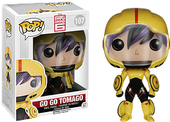 Big Hero 6 GoGo Tomago - As the name suggests, GoGo Tomago likes to go fast. She's a woman of few words, but she's tough, loyal, and loves to move with speed.  It won't be long before she's go-go-gone!