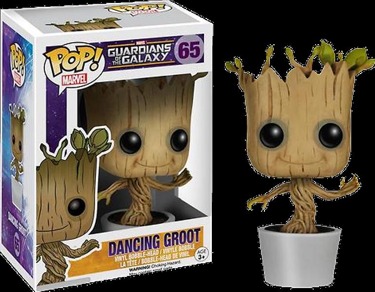 Dancing Baby Groot Pop! Vinyl Figure