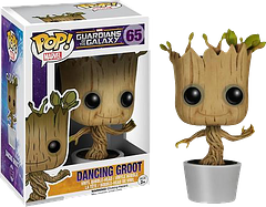 Dancing Baby Groot Pop! Vinyl Figure - Okay, he doesn't actually dance, despite the name of the figure, but he is the Funko version of the cute baby Groot, grooving away to his favourite tunes. These are likely to sell out fast.
