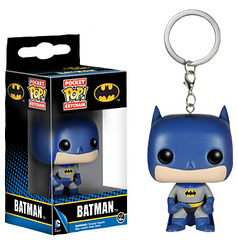 Batman Pop! Keychain - Your keys will never be safer than they would be under the watch of the one and only Dark Knight. This 1.5 inch Pop! Keychain will sit perfectly on any Batman fan's keys.