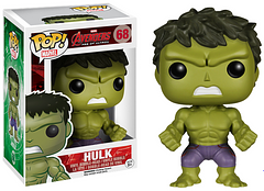 Avengers 2 Hulk Pop! Vinyl Figure - The Avengers 2 Incredible Hulk may only be 3.75 inches tall, but don't let his size fool you, he's still as strong as he's always been and is ready to team up with the rest of the Avengers, or as a great addition to any Pop! collection.