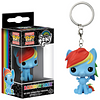 My Little Pony Rainbow Dash Pop! Keychain