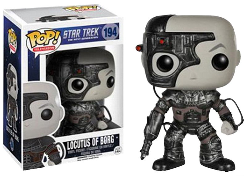Star Trek Locutus of Borg Pop! Vinyl Figure
