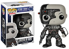 Star Trek Locutus of Borg Pop! Vinyl Figure - Well, something must have gone wrong during Jean-Luc Picard's Assimilation because he's turned into a Pop! Vinyl Figure… Not to say that's a bad thing. This 3.75 inch Star Trek Next Generation Pop! Vinyl Figure will serve as the perfect gift or addition to any Star Trek collection.