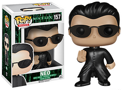 The Matrix Neo Pop! Vinyl Figure - It's Neo's destiny to end the Machine War, help Humanity become free from The Matrix and of course become a part of your Pop! collection. You won't have to worry about any Agents or Sentinels with Neo here to fend them off.