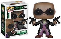 The Matrix Morpheus Pop! Vinyl Figure - He's the captain of the Nebuchadnezzar, a legendary hacker and backbone of the fight to save humanity. Is there anything he can't do? This 3.75 inch Morpheus Pop! would be a great gift for any fan, or even as a part of your own personal collection.