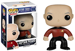 Star Trek Jean-Luc Picard Pop! Vinyl Figure - Jean-Luc Picard. Captain of a number of Starships, Archaeologist, and now a Pop! Vinyl Figure. He likes his Earl Grey Tea to be hot and he'd like to be a part of your Pop! Collection.