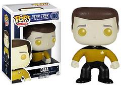 Star Trek Data Pop! Vinyl Figure - Data may be immune to disease, but he isn't immune to receiving a cute Pop! Vinyl makeover.