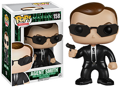 The Matrix Agent Smith Pop! Vinyl Figure - Agent Smith is looking sharp, as always, dressed in his iconic black suit. His mission in the Matrix is complete and now he's ready to be a member of your Pop! Vinyl collection.