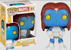 X-Men Mystique Pop! Vinyl Figure - We don't know for sure how long she'll stay in this form, so get in and get this 3.75 inch Mystique Pop! Figure while she still stands out from the crowd.