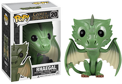 Rhaegal Pop! Vinyl Figure - Named after Rhaegar Targaryen, the last great champion of the Targaryen house, this version of the dragon Rhaegal could be the champion of your Pop! collection.