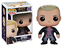 Spike Pop! VInyl Figure - Spike, also known as William the Bloody, arguably the coolest Big Bad from Buffy the Vampire Slayer has come back to town. Just don't mention Angel or ask about his days as a poet. He might get a bit bumpy around the forehead region, if you do.