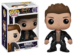 Angel Pop! Vinyl Figure - Whether he's in his broody Angel form, or his evil Angelus form, he's still one of the most popular characters in the Buffy the Vampire Slayer series. You can now add this fine, but still a bit broody version of the Angel 3.75 inch Pop! Vinyl Figure to your collection.