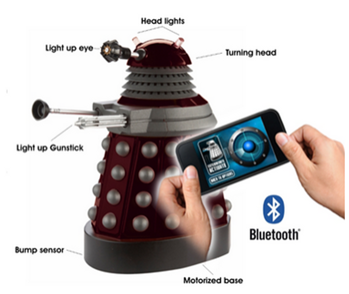 Dr.Who Smartphone Operated Dalek