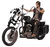 Daryl Dixon With Chopper Bike Set