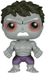 Savage Hulk Pop! Vinyl Figure - This adorable 3.75 inch Pop! figure of Savage Hulk will smash its way right into your heart. Lucky this incarnation of the Hulk wont leave a destuctive path too dificult to tidy up.