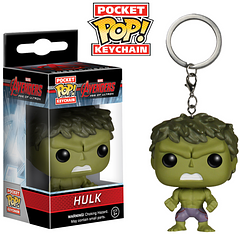 Hulk Pop! Keychain - This adorable Age of Ultron series Pop! VInyl keychain captures the essence that is Hulk but without the temper and destruction. He's lightweight but don't call him, 'puny.'
