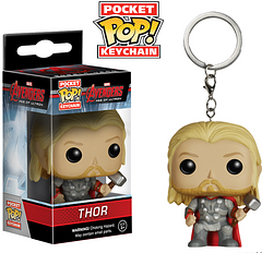 Thor Pop! Keychain - No harm shall befall your keys under the watch of the Avengers: Age of Ultron Mighty Thor Pop! Keyring. He comes complete with his hammer and noble virtue.