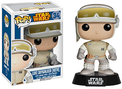 Luke Hoth Pop! Vinyl Figure - It's a good thing this Luke Hoth Pop! Vinyl doesn't smell like the inside of a Tauntaun. Standing at 3.75 inches tall, on a black Star Wars base, this Pop! would make a great addition to any Star Wars collection, or even a gift for a friend.