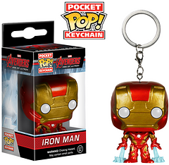 "Iron Man Pop! Keychain - ""Genius, billionaire, playboy, philanthropist,"" and now the perfect way to help keep your keys safe from anyone, even supervillians."