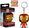 Iron Man Pop! Keychain