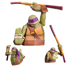 TNMT Donatello Bust Bank - The Teenage Mutant Ninja Turtles have never been more popular, and now Nickelodeon have released the definitive range of Bust Banks of your favourite heroes in half shells.Donatello has everything you need in a fine collectable and money bank.