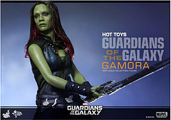 Gamora 12 Inch Fgure - The last of the Zen-Whoberis and once described as the most dangerous woman in the whole galaxy, Gamora is here as this 12