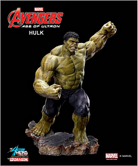 Hulk Model Kit Vignette - The perfect hybrid between a Model Kit and a figure, Dragon brings us this 1:9 scale hulk. He's highly detailed and movie accurate with intricate details such as body hair, veins and skin texture. All of the pieces come pre-painted so all you have to do is pop them into place!