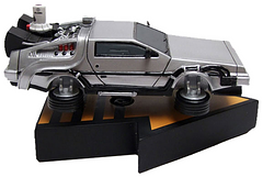 Time Machine Motion Statue - While this DeLorean doesn't get up to  88 mph, this limited edition Time Machine Motion Statue really does move. The integrated non-electric motion brings the DeLorean to life. This statue is 7 inches long  and hand painted to perfection. Although this one won't take you back in time, it is an amazing statue for any fans collection.
